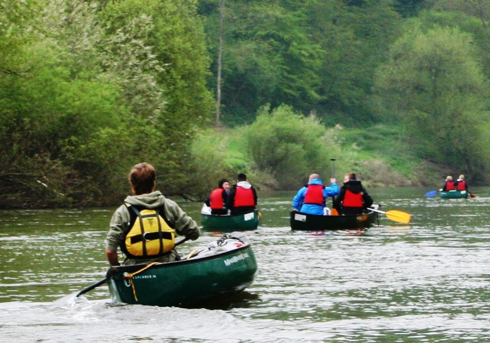 Canoeing And Kayaking In Herefordshire