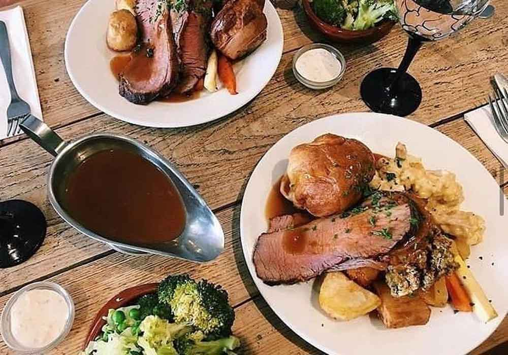 The Den Sunday Lunch