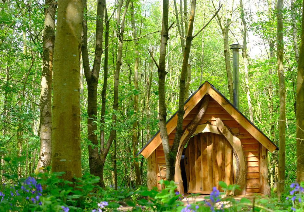 Glamping Herefordshire Brook House Woods