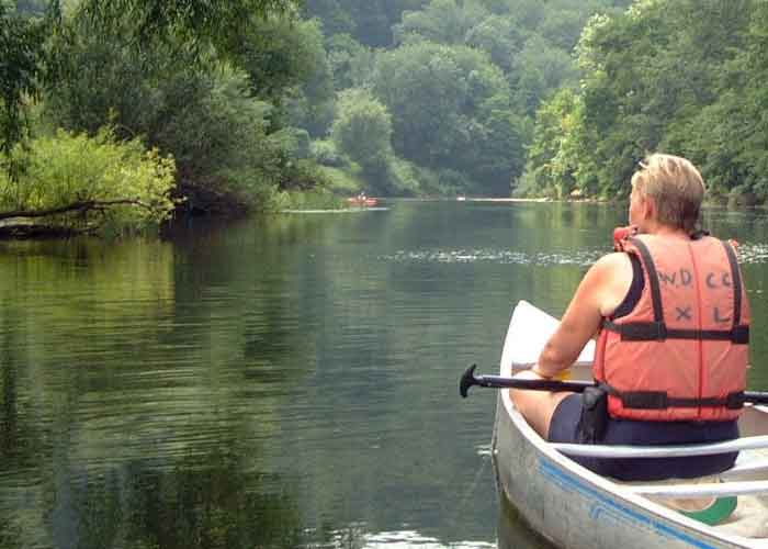 Cycle And Canoeing Tour