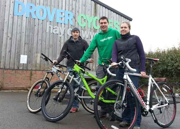 Drovers Cycle Hire In Herefordshire