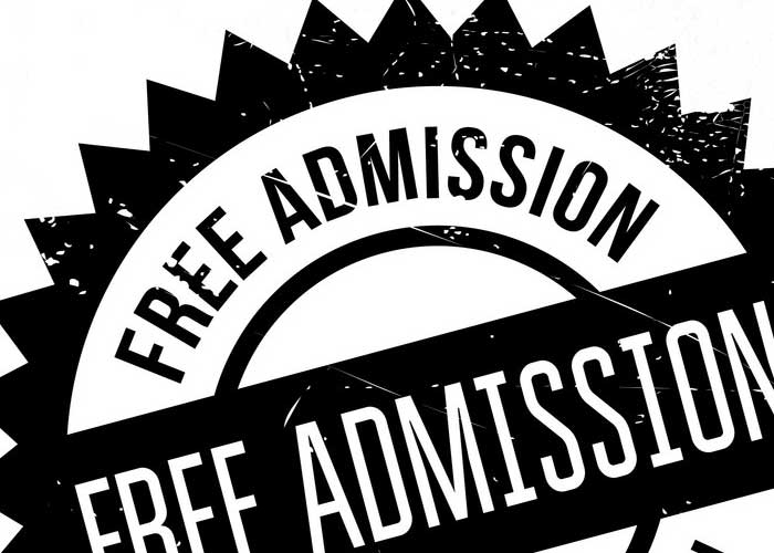 Free Admission To Event