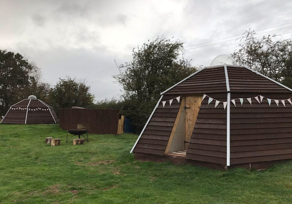 Unique Accommodation In The Midlands Honey Pod Farm
