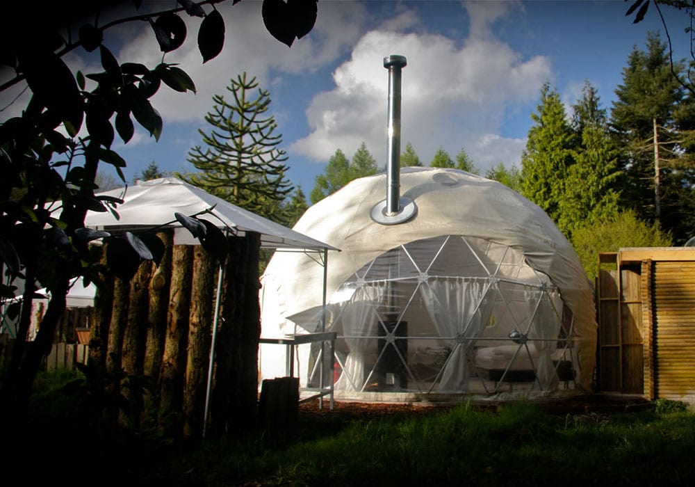 Unique Accommodation In The Midlands Dome Garden