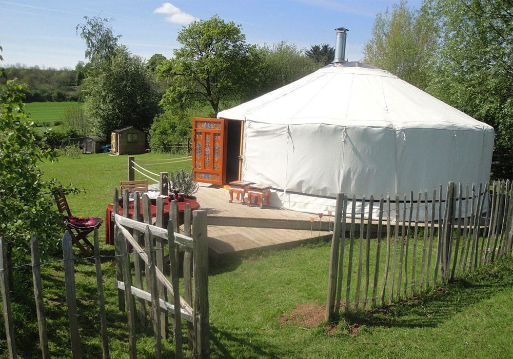 Unique Accommodation In The Midlands Mongolian Yurt