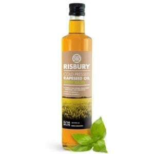 Risbury Cold Pressed Natural Rape Seed Oil With Basil 250ml