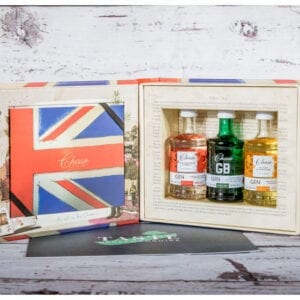 Chase Distillery Gin Collection Book Presentation Gift Set
